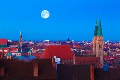 Nuremberg (Nürnberg), Duitsland Stock Foto's