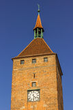 Nuremberg (Nuernberg), Germany- clock tower - Weisse Turm Royalty Free Stock Photos