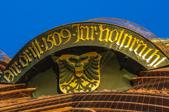 Nuremberg (Nuernberg), Germany- details- top Church of Our Lady Stock Photos