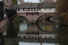 Nuremberg Pegnitz Fotografía de archivo