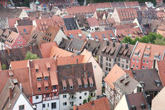 Nuremberg rooftops Royalty Free Stock Photo
