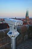 Nuremberg siktspunkt Arkivbild