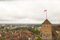 Nuremberg skyline view Royalty Free Stock Photo