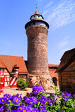 Nuremberg slott royaltyfria foton
