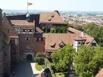 Nuremberg slott Arkivfoton