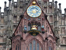 Nuremberg stad i Tyskland Fotografering för Bildbyråer