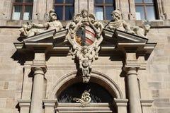 Nuremberg stadshus arkivfoto