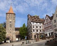 Nuremberg, Tiergartnertor photos libres de droits
