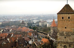 Nuremberg from the top Stock Image
