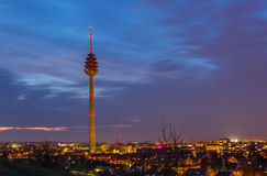 Nuremberg TV Tower stock photo