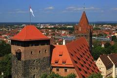 Nuremberg Tyskland Royaltyfria Bilder