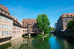 Nuremberg velho Fotografia de Stock Royalty Free