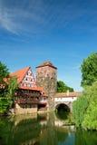 Nuremberg velho Imagem de Stock