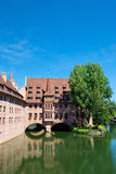 Nuremberg velho Fotos de Stock Royalty Free