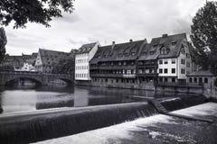 Nuremburg Canal Royalty Free Stock Photo