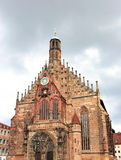 Nuremburg Cathedral, Germany Stock Photo