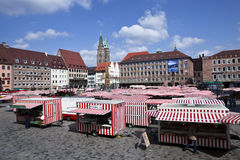 Nuremburg Market Royalty Free Stock Photography