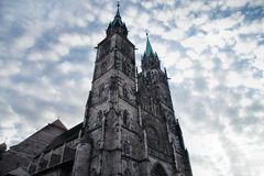 Nurenberg cathedral Royalty Free Stock Image