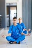Nures meditation Royaltyfria Foton