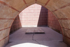 Nuri Yamut纪念品和公墓在沟壑山沟, 1915竞选的Gallipoli零件顶部在第一次世界大战中 免版税库存图片