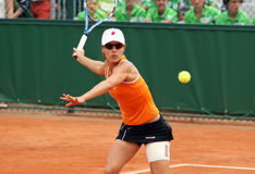 Nuria Llagostera Vives (ESP) at Roland Garros 2011 Royalty Free Stock Photos