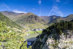 Nuria Valley Fotografia de Stock Royalty Free