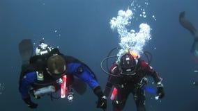 nurków akwalungu underwater zbiory