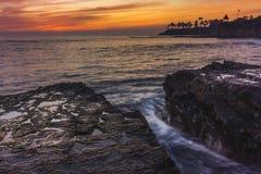 Nurka ` s zatoczki zmierzch Zdjęcie Royalty Free