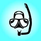 Nurkowa maska Obrazy Royalty Free