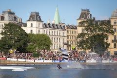 Nurkowania wyzwanie Kopenhaga 2016 obraz royalty free