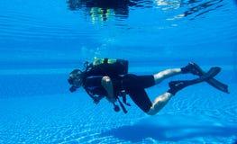 nurkowy akwalung Fotografia Royalty Free