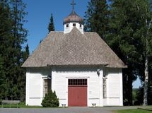 Nurmo Chapel royalty free stock photo
