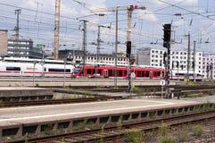 Nurnberg bahnhof - Nurnberg dworzec Zdjęcie Stock