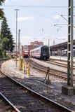 Nurnberg bahnhof - Nurnberg dworzec Zdjęcia Stock