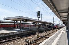 Nurnberg bahnhof - Nurnberg dworzec Fotografia Royalty Free