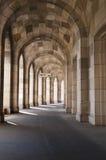 Nurnberg  Congress Hall corridor. Nurnberg, Bavaria / Germany - July 18th 2014 : Congress Hall corridor section Royalty Free Stock Images