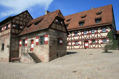 Nurnberg or Nuremberg famous castle Stock Images