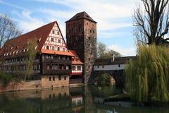Nurnberg oder Nürnberg Stockbild