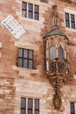 Nurnberg old house wall ornamnts and paintings Stock Image