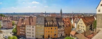Nurnberg panorama Obrazy Stock