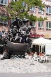 Nurnberg &-x22; Statek fools&-x22; statua Zdjęcie Stock
