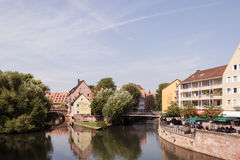 Nurnberg view Stock Images