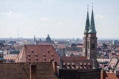 Nurnberg widok Zdjęcie Stock