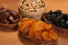 Nurs and dry fruits Stock Image