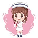 Nurse_4 库存例证