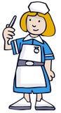 Nurse. Hospital Nurse also in vector format Stock Photos
