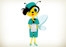 Nurse Bee Royalty Free Stock Images