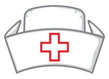 Nurse cap Royalty Free Stock Image