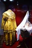Nurse costume. Costume nurse in Russian families of noble Stock Photos