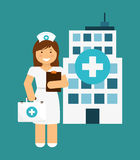 Nurse design Royalty Free Stock Images